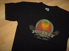 Journey Band Tee - Vintage 2006 Steve Augeri Concert Tour Black T Shirt Medium