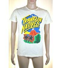 T-Shirt Maglia Uomo FRANKLIN & MARSHALL Italy I421 Bianco-Vaniglia Tg M