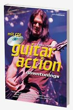 Rock Guitar Play Lernen With guitar Action Downtunings Incl Play Along CD