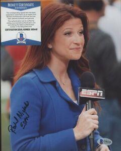 Rachel Nichols ESPN Basketball Signed 8x10 Photo AUTO Autograph Beckett BAS COA