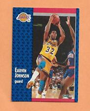 MAGIC JOHNSON FLEER 1991 CARD # 100