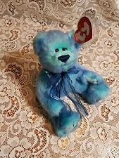 TY BEANIE BABIES THE ATTIC TREASURES COLLECTION JOINTED AZURE BEAR-1993