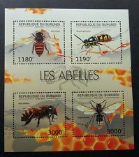 Burundi Honey Bees 2012 Nest Insect (miniature sheet) MNH