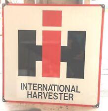 INTERNATIONAL HARVESTER ENAMEL SIGN (MADE TO ORDER) #03