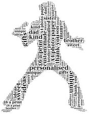 Personalised elvis presley word cloud picture. wordart. Fathers day picture