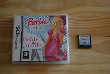 BARBIE STYLISTE DEFILE & MODE - NINTENDO DS - VF