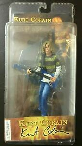 2006 NECA - Kurt Cobain - Nirvana - Fender MUSTANG Guitar - Action Figure SEALED