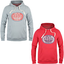 MENS URBAN BEACH OVERHEAD HOODIE HOODY SIZE M - XL SINCLAIRE GREY OR RED UBBAM06