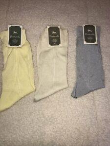 Vintage Pantherella Fine English Socks(3pairs)