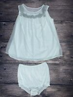 Vintage 60's-70's Sears Charmode Babydoll Lingerie Set Size Medium 36 Panties