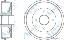 REAR BRAKE DRUM  RENAULT laguna DRM9160 203mm diameter 1994-2000