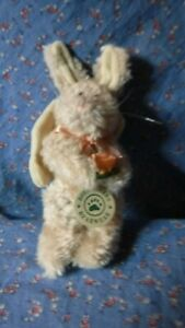 Boyds Bear Angel Rabbit Holding Flowers Ornament  Immanuela  7 Inch High
