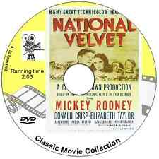 NATIONAL VELVET    Elizabeth Taylor  Mickey Rooney  & Donald Crisp 1944 DVD