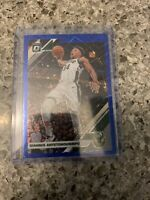 Giannis Antetokounmpo 2019-20 Donruss Optic Blue Velocity Prizm #81 SP RARE