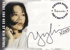 Lost Revelations Yunjin Kim as Sun-Hwa Kwon A1 Auto Card