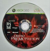 Deadly Premonition for Microsoft Xbox 360 (DISC ONLY)
