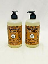 Mrs. Meyers Clean Day LIMITED EDITION Acorn Spice Hand Soap SET OF 2