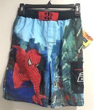 Nwt! Spiderman Swim Trunks •Size 8/10