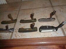 6 Golf Putter Heads 3 Ping Anser 1 B60 1 Odyssey 9HT Prototype 1 Taylormade RH
