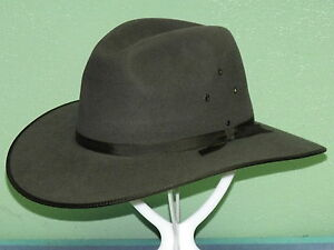 AKUBRA COOBER PEDY IMPERIAL FUR FELT AUSSIE TOWN AND COUNTRY HAT