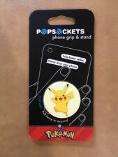 Pokemon Popsockets Pikachu Pop Socket Cell Phone Grip & Stand NIP