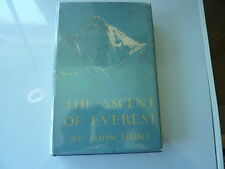 The Ascent of Everest by John Hunt. First edition in dust jacket 1953