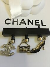 New Authentic Chanel Coco Handbag Heels CC Logo Cell phone Charm