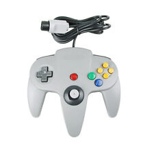 Grey Controller For Nintendo 64 N64 Game pad Joystick