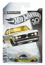 Hot Wheels 50th Anniversary Zamac PLYMOUTH BARRACUDA FORMULA 5  #HW107