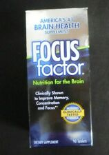 Focus factor nutrition for brain health Clinically Tested 90 Tablets Exp 1/2021^