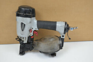 Husky DPCN45 Pneumatic 15-Degree 1-3/4 in. Coil Roofing Nailer