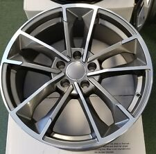 "18"" Wheels Fits Audi A3 A4 A5 A6 A8 18X8.0 +35 5X112 Set of (4) Rims"