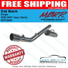 MBRP 2002-2007 Jeep Liberty Cat Back Single S5510409