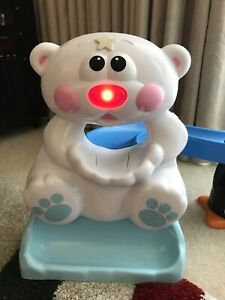 Fisher Price Go Sit To Crawl Polar Coaster