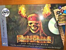 DISNEY PIRATES OF THE CARIBBEAN TREASURE HUNT - DVD BOARD GAME Complete