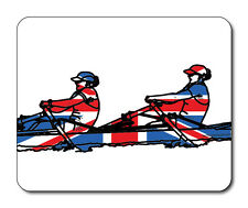 Best of British Sports, Rower Mouse Mat - Union Jack Flag