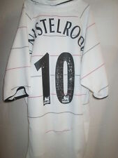 Manchester United 2003-2005 3rd Nistelrooy Football Shirt Extra Large Boys 10820