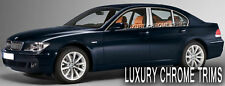 BMW 7 Series E65 Stainless Chrome Pillar Posts by Luxury Trims 2002-2008 (6pcs)