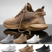 Men's Athletic Breathable Running Shoes Lightweight Sports Tennis Sneakers Gym