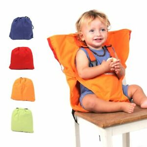 Travel Foldable Baby Dining Lunch Chair Portable Infant Feeding Seat Safety