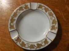 Wedgwood Gold Whitehall bone china ashtray W4001