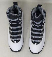 """DS Air Jordan 10 Retro GS """"Steel"""" 2013 310806 103 Sz 5Y"""