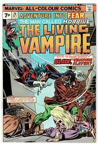 Adventure into Fear Morbius The living Vampire  - BLADE No 24 - 1974