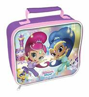 Shimmer and Shine Rectangle Insulated Lunch Box - Girls School Travel Lunch Bag