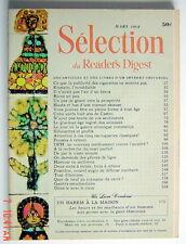 SÉLECTION DU READER'S DIGEST DE MARS 1968