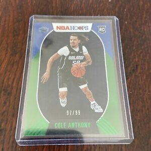 Cole Anthony Hoops SP RC /99
