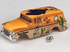 Thunderjet LooneyTunes 57 Suburban HO Slot Car Body Fit Aurora Dash Tjet Chassis