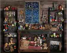 7x5FT Wood Christmas Shop Store Custom Photo Studio Background Backdrop Vinyl