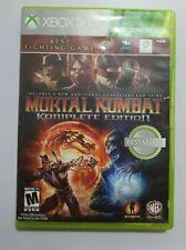 Mortal Kombat Komplete Edition Xbox 360 NTSC vers.USA Leer bien antes de comprar