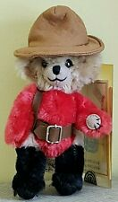 "New ListingMerrythought Limited Edition 7"" Cheeky Mohair Teddy Bear: ""Canadian Mountie"""